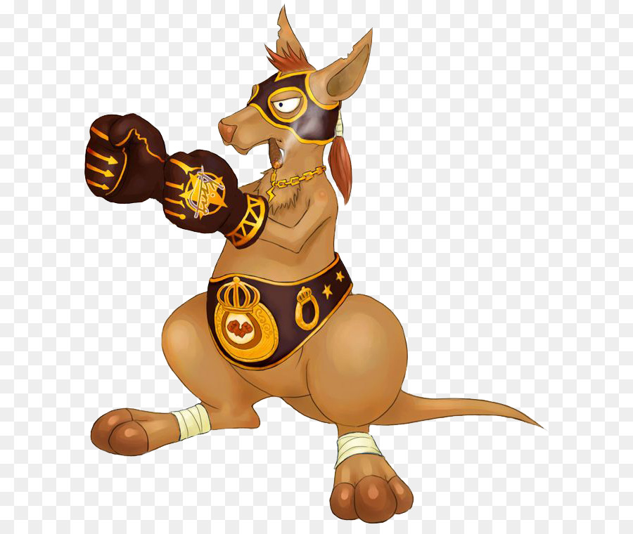 Arena of Valor Boxing kangaroo Cartoon Macropodidae - Handsome ...
