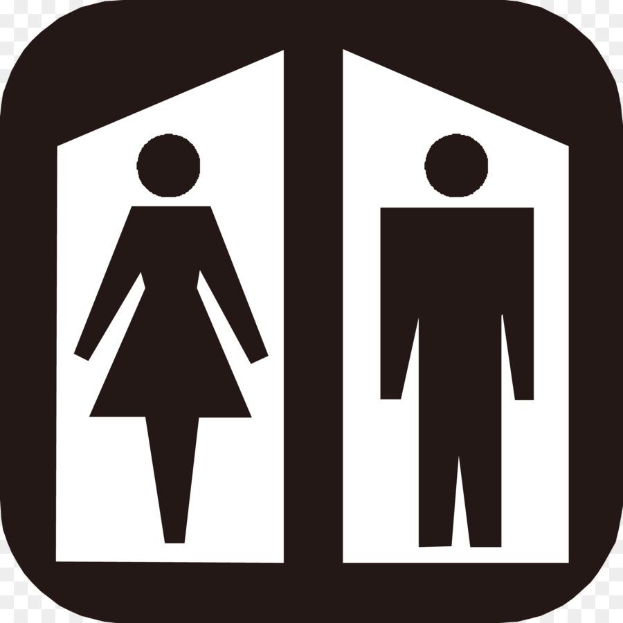 Общественный туалет унитаз знак Ванная комната