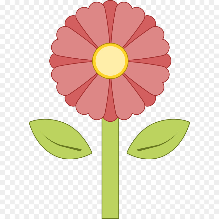 Cartoon Pink Flowers Clip Art Pink Flower Images Png Download
