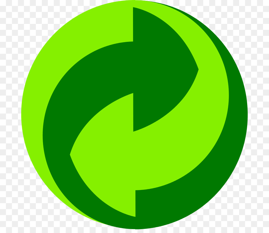 Paper Green Dot Recycling Symbol Packaging And Labeling Recycling