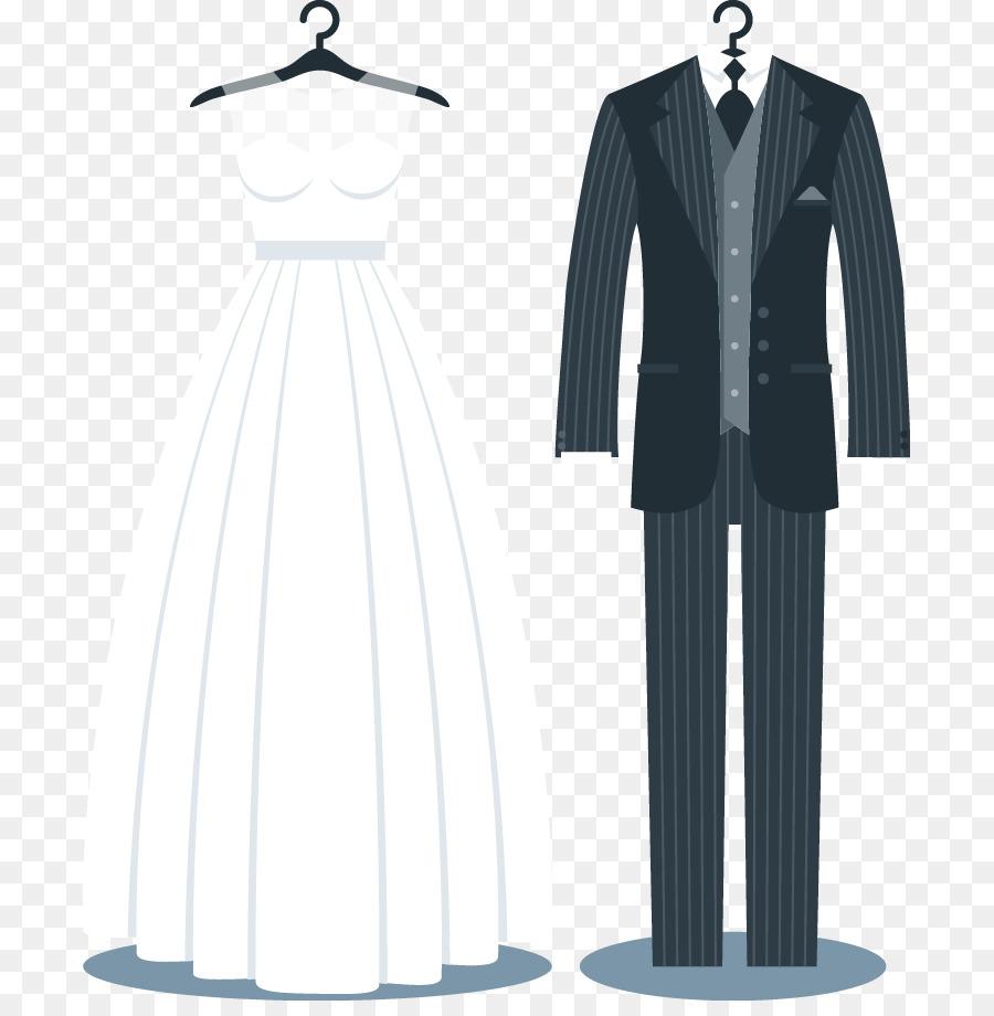 Tuxedo Wedding invitation Suit Wedding dress - Wedding suits png ...