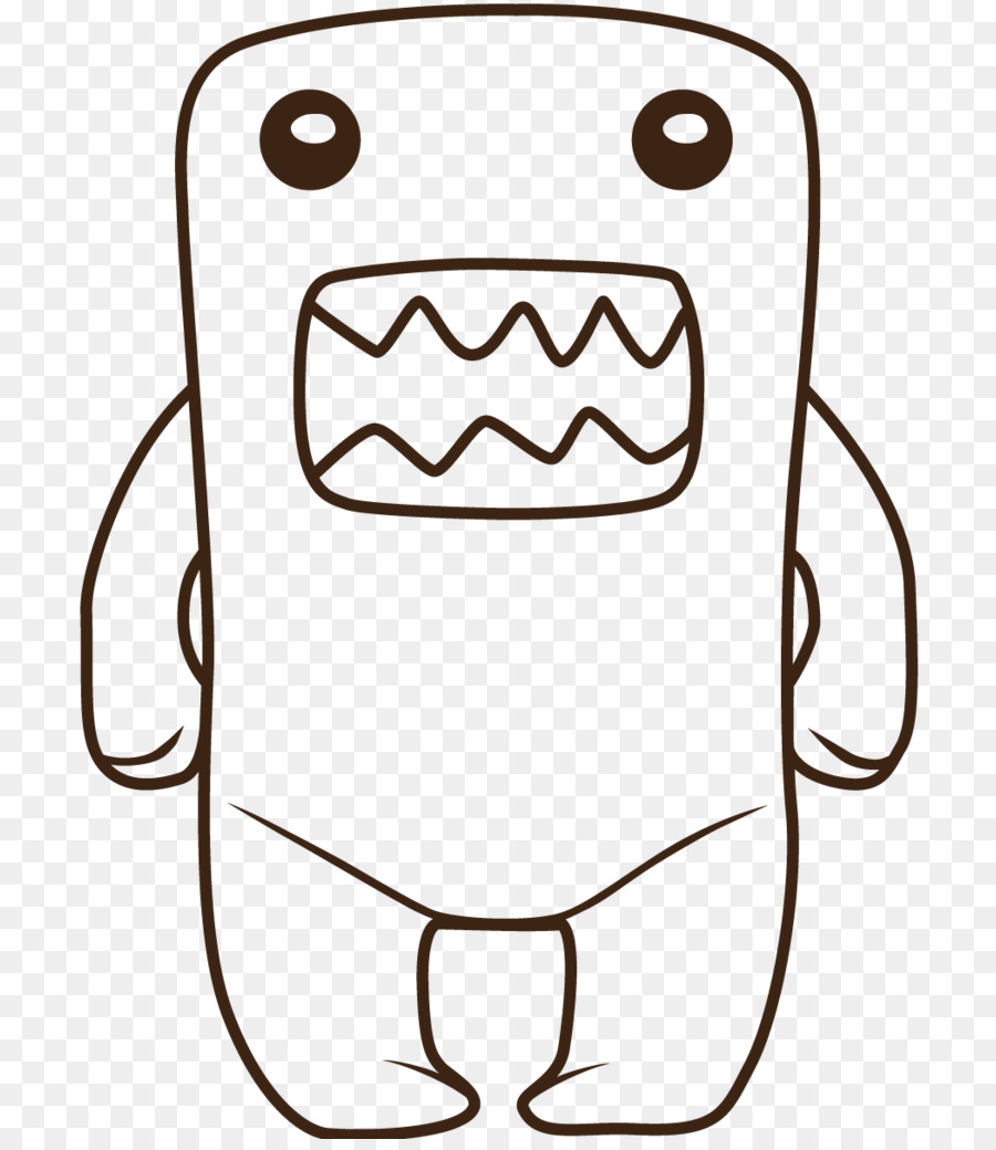 Domo Drawing Hello Kitty Coloring Book