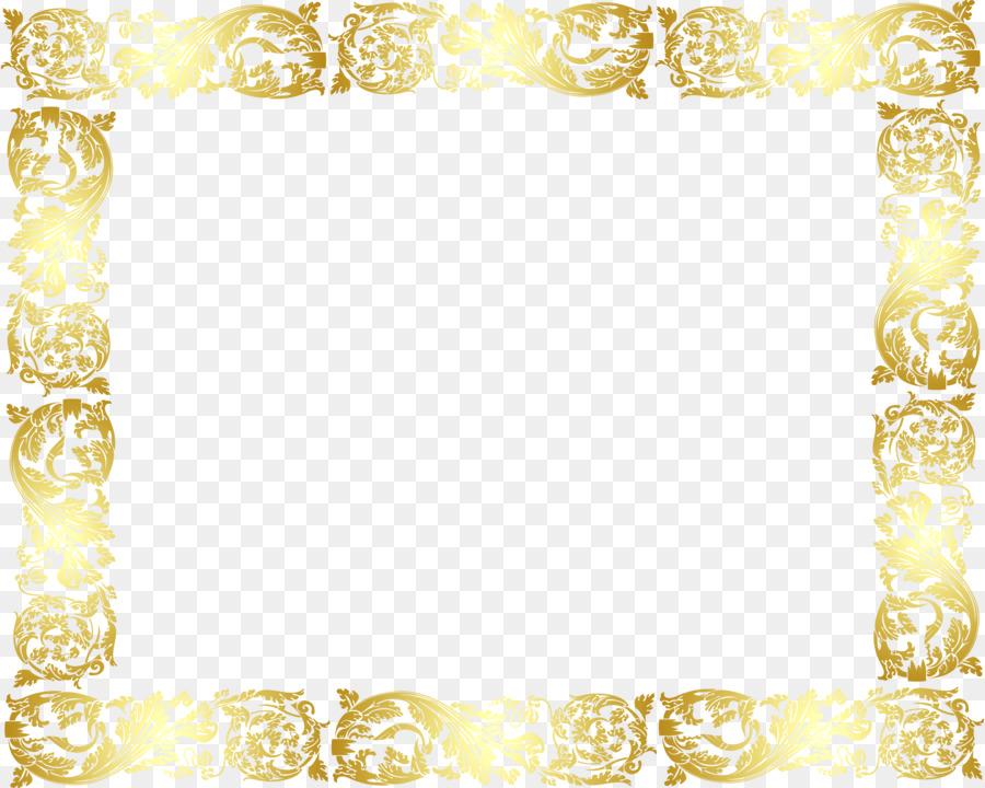 Fondal De Oro - Libre de marco de oro para tirar el material ...