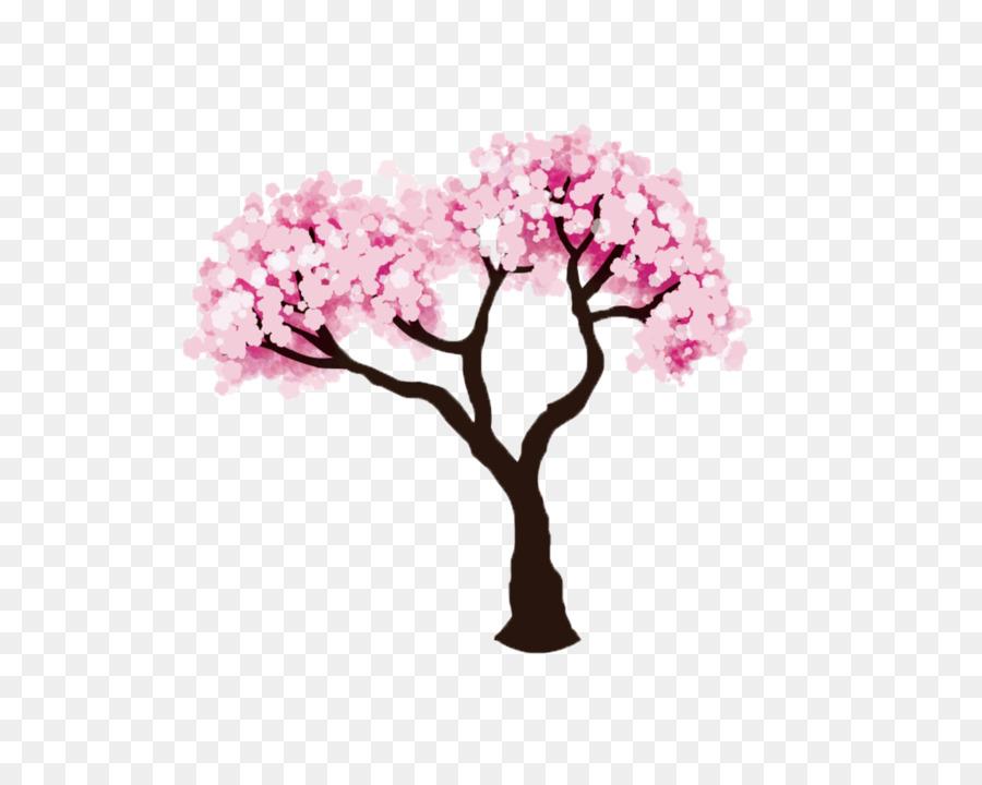Flor De Cerezo Dibujo Clip Art