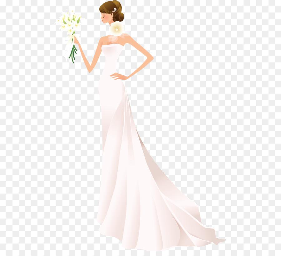 Bride Contemporary Western Wedding Dress