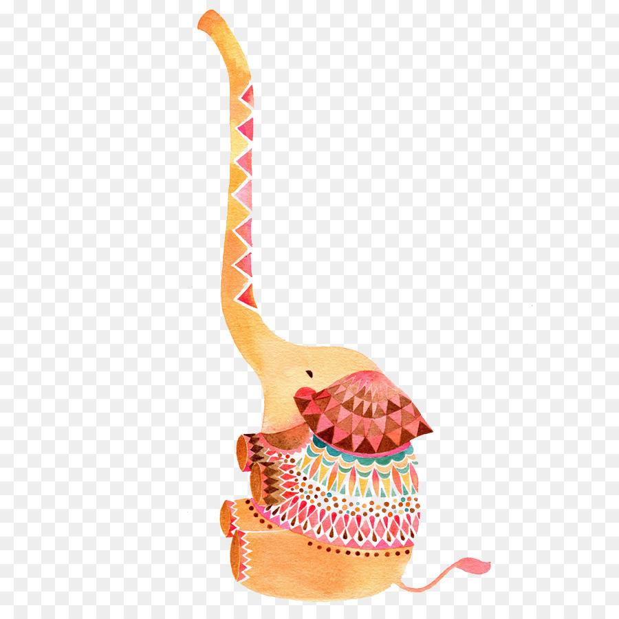 Elefante indio Dibujo de Animales de la Ilustración - De dibujos ...