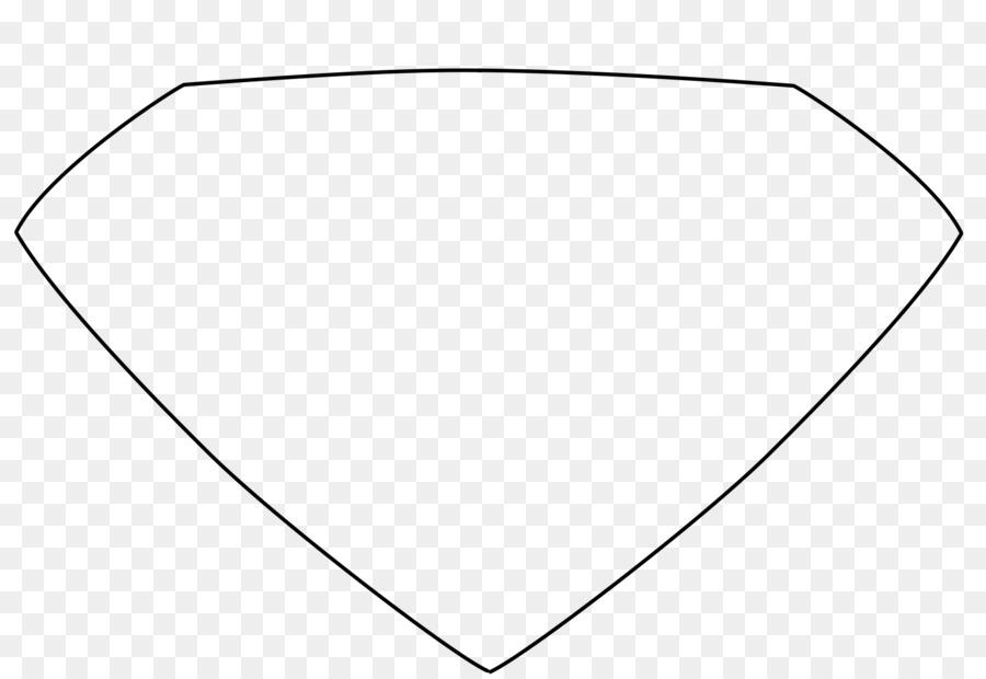 white symmetry area angle pattern empty superman logo png download rh kisspng com empty superman symbol Empty Shield Logo