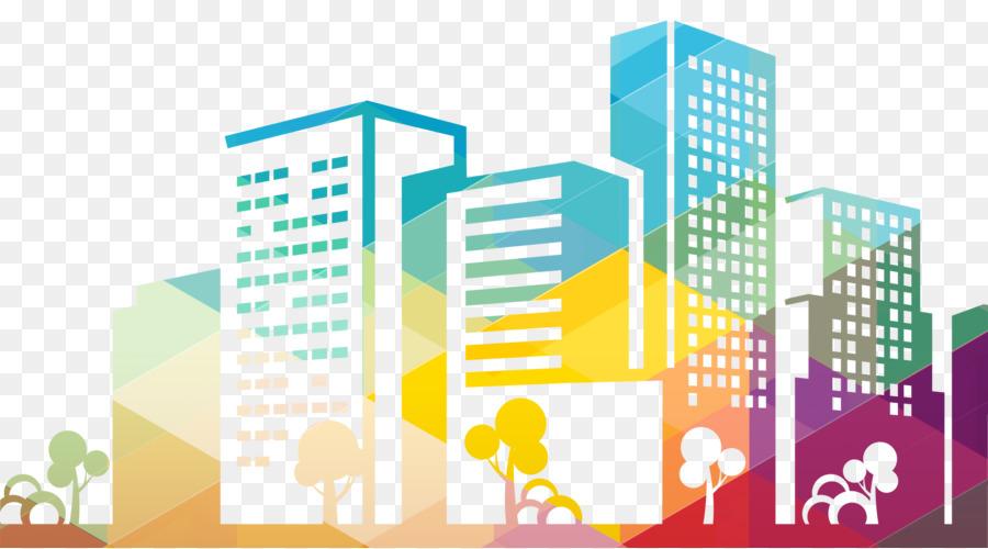 Silhouette Cityscape Building Icon