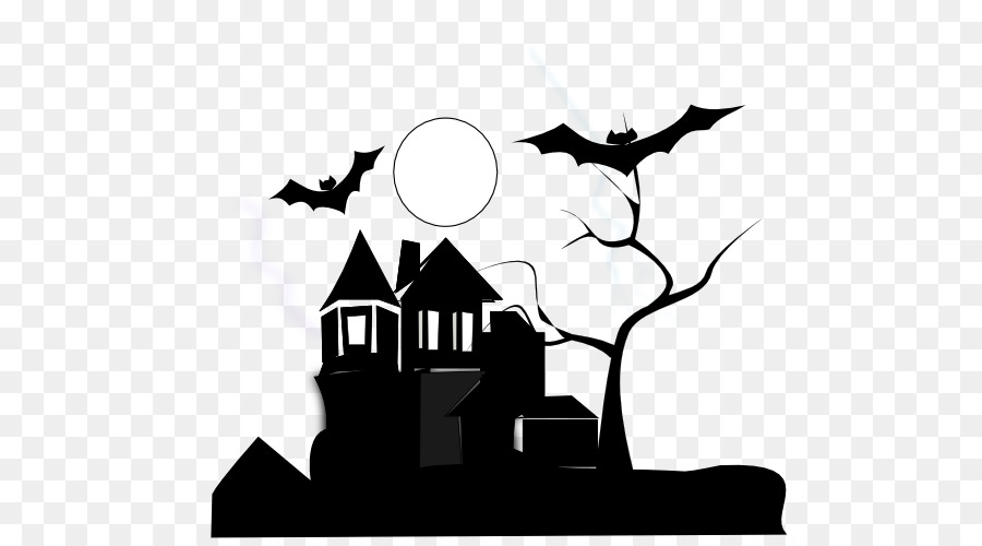 white house haunted attraction black and white clip art black and rh kisspng com free black and white house clipart parts of the house black and white clipart