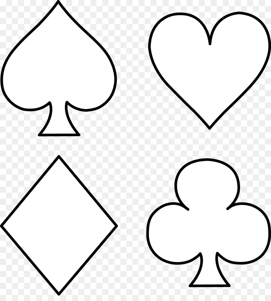 Suit Playing card Standard 52-card deck Spades Clip art - Card ...