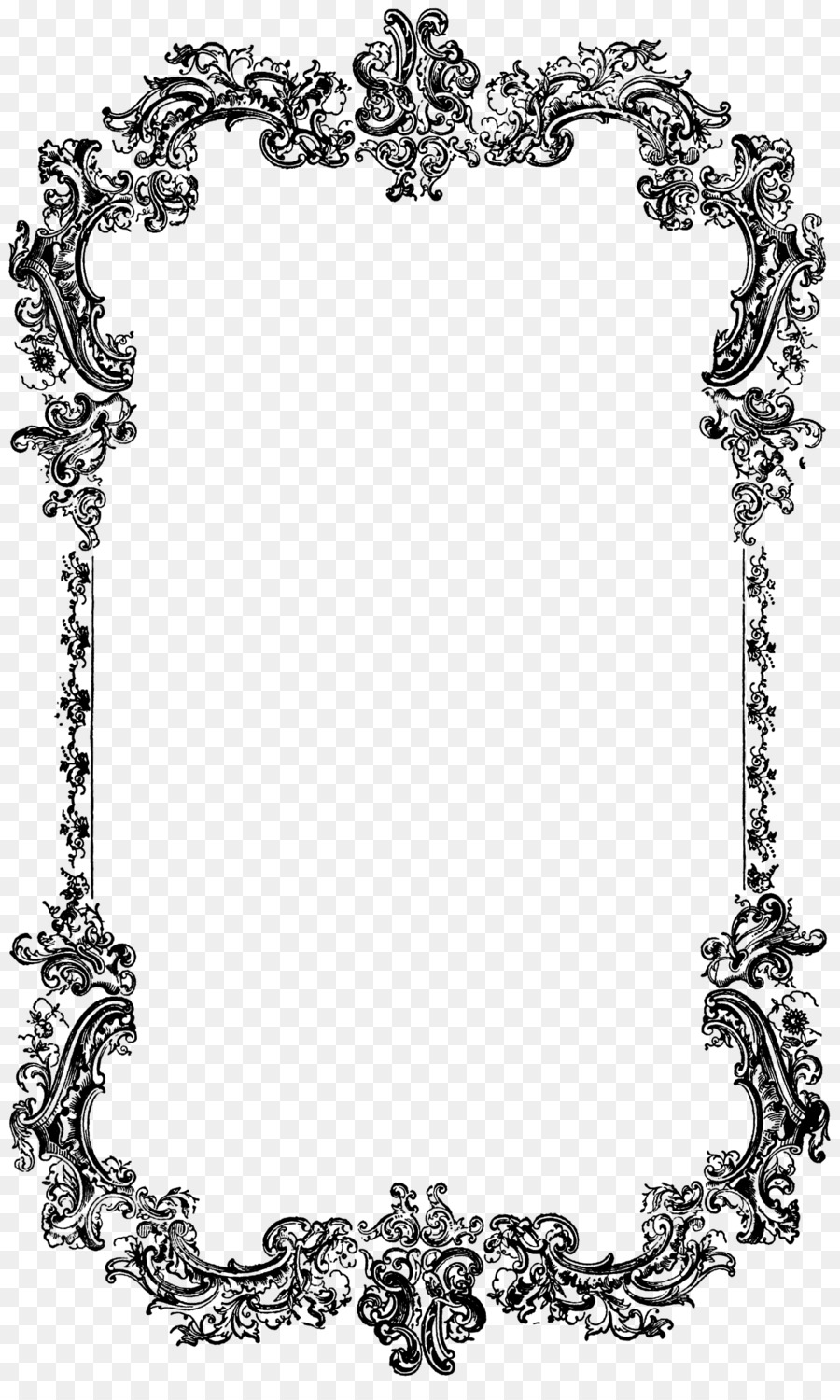 Borders and Frames Free content Clip art - Decoration Border ...