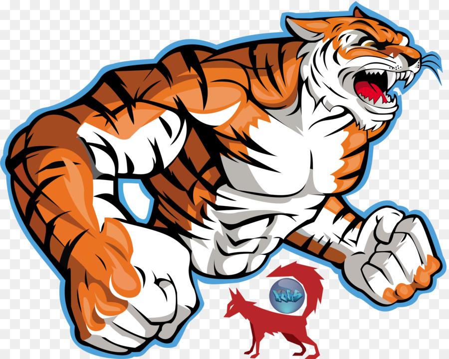 bengal tiger logo clip art tiger vector art png download 900 720
