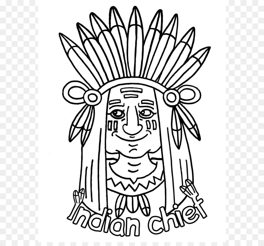 Coloring Book Native Americans In The United States Adult Child Illustration