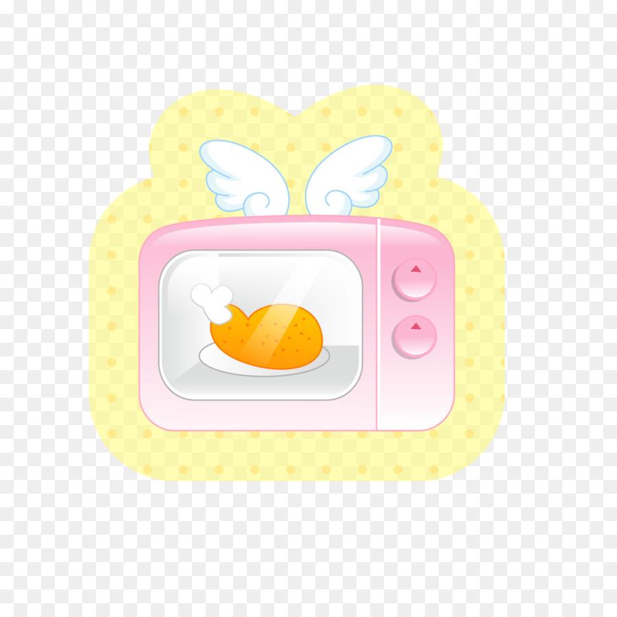 De Dibujos Animados De Color Amarillo Ilustración - Horno de pollo ...