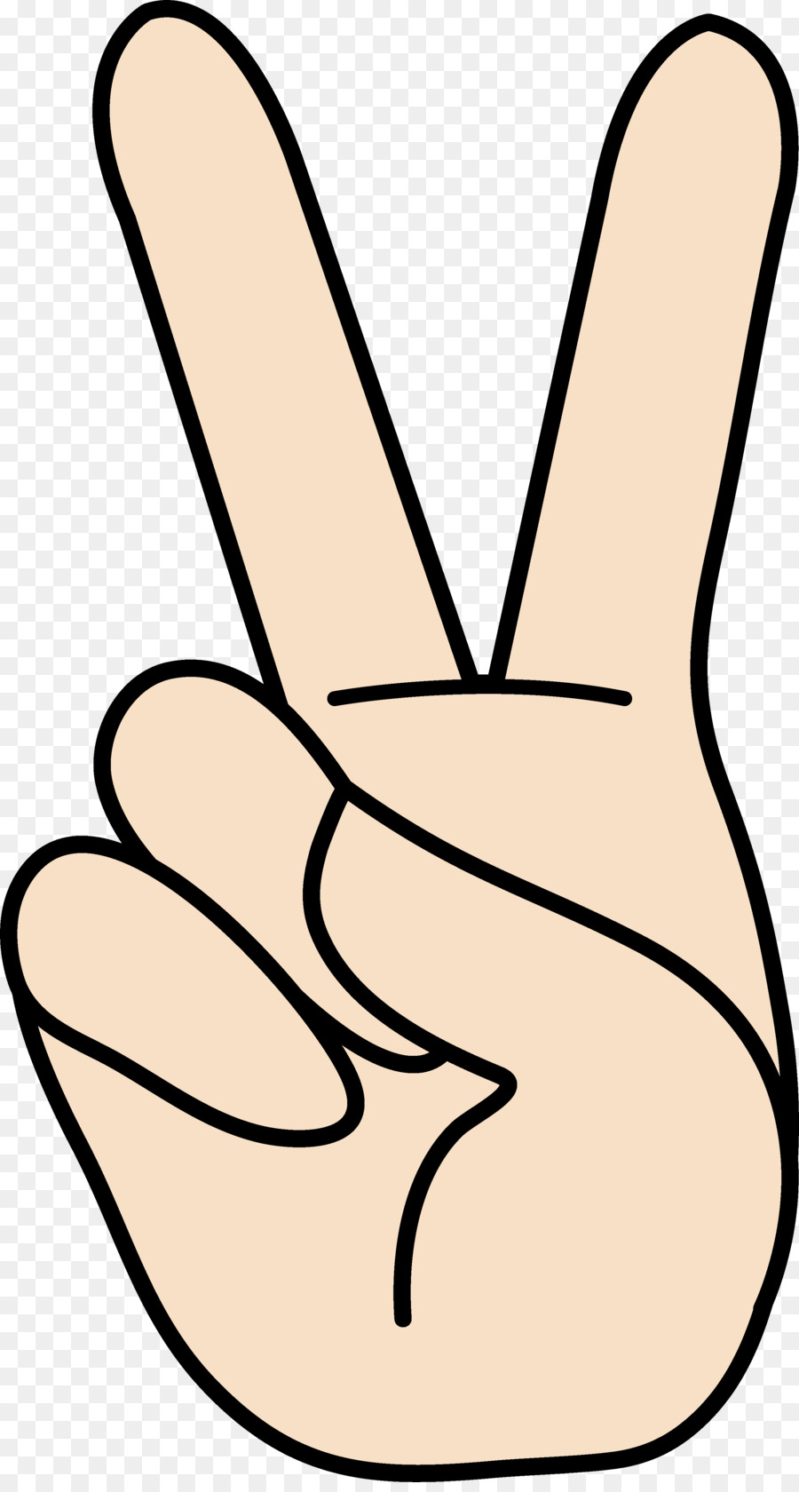 peace symbols v sign hand clip art side hand cliparts png download rh kisspng com free clipart peace sign peace sign clipart black and white