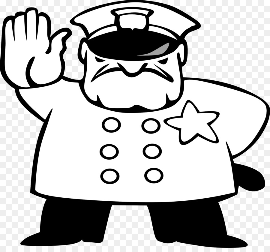 Police Officer Free Content Coloring Book Clip Art