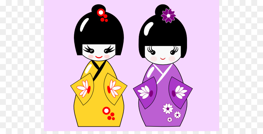 kokeshi inkscape tutorial japanese dolls clip art japanese doll rh kisspng com japanese clipart black and white japanese clipart