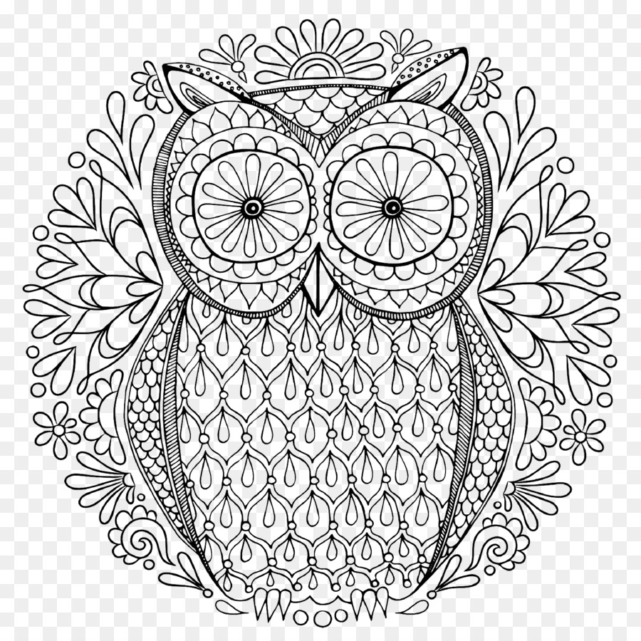 Secret Garden An Inky Treasure Hunt And Colouring Book Owl Coloring Adult