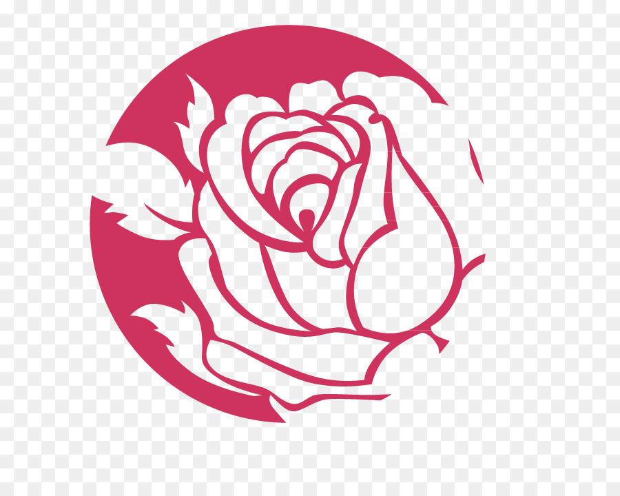 Beach Rose Logo Flower Rose Logo Png Download 795 705 Free