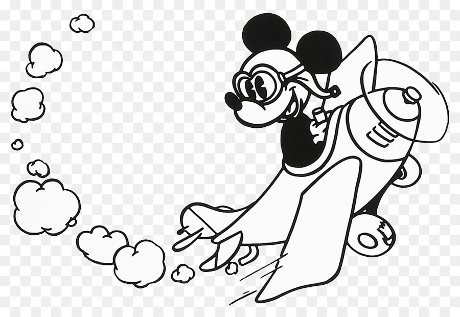 Mickey Mouse Minnie Mouse Black And White Clip Art Free Dragonfly