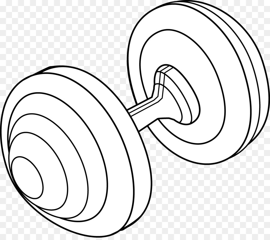 Weight Training Barbell Clip Art