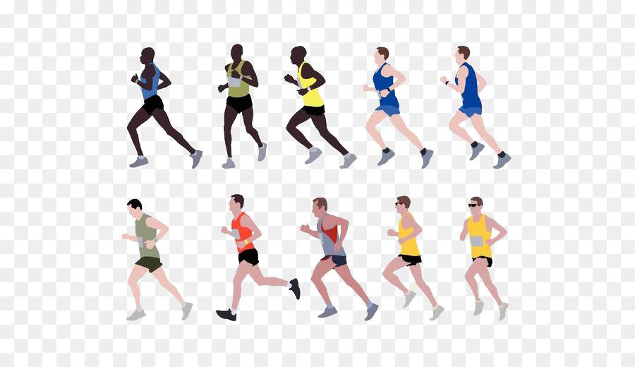 Marathon Running Clip Art