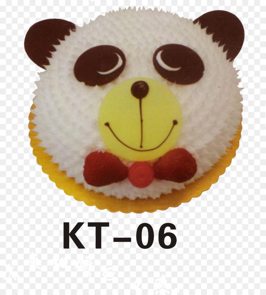 Torte Fruitcake Giant panda Birthday cake - Panda Cake png download ...