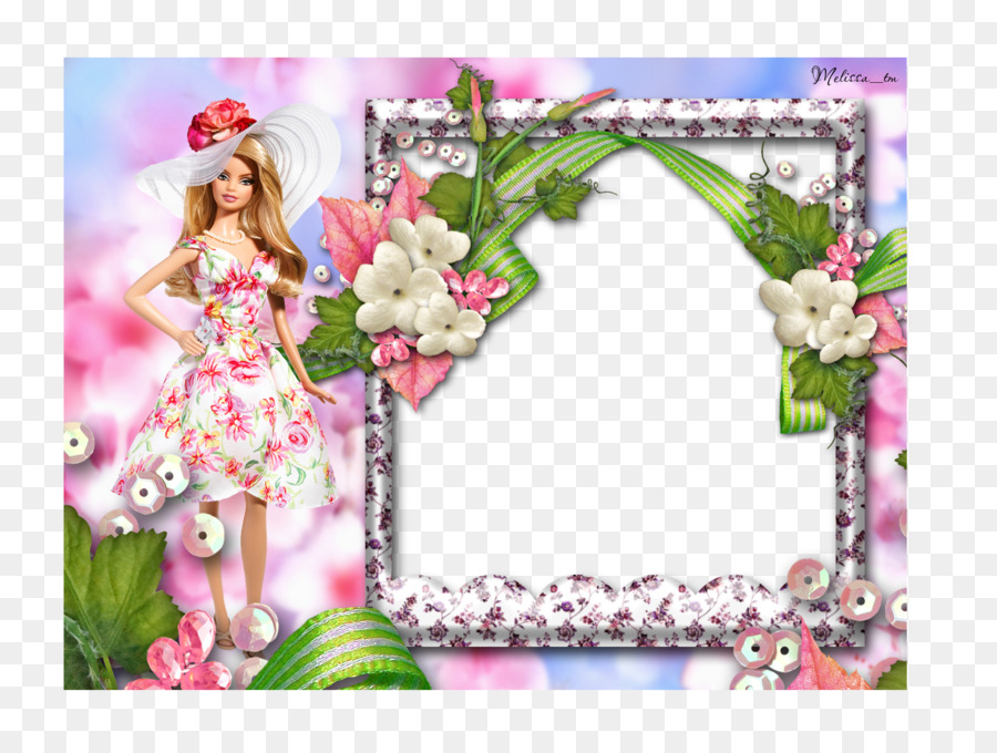 Barbie Picture frame Doll Clip art - Princess photo frames png ...