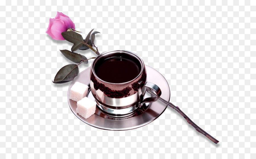 coffee tea cafe cup rose cup png download 658 546 free