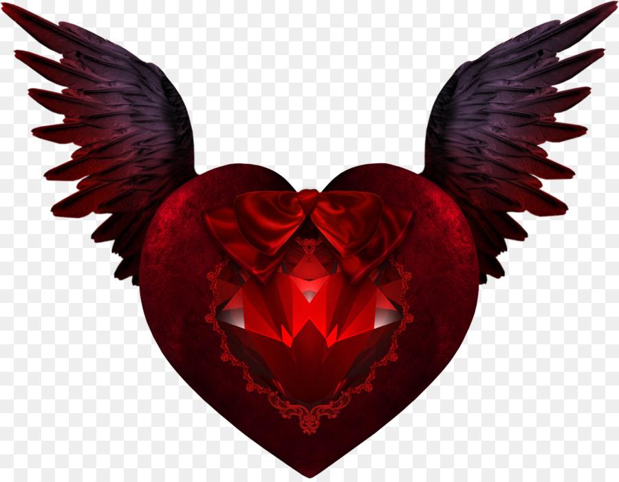 devil wing heart devil wings png download 1631 1260 free