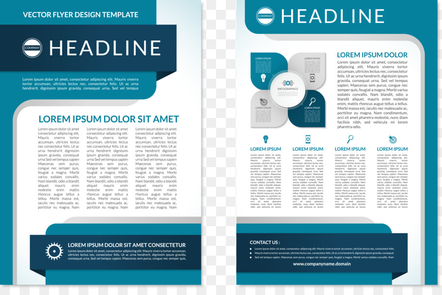 Flyer Brochure Page Layout Ppt Chart Png Download 53563506