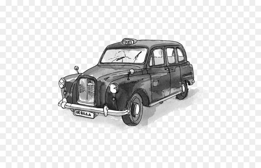 Drawing Illustrator Painting Illustration - Retro classic cars png ...