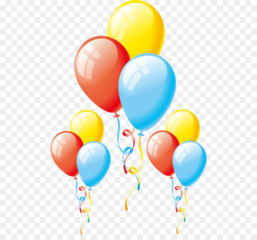 Balloon Birthday Clip Art Hot Air Balloon Png Vector