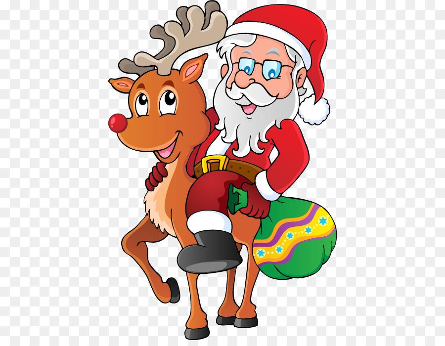 Santa Claus Royalty Free Clipart Weihnachtsmann Png Herunterladen