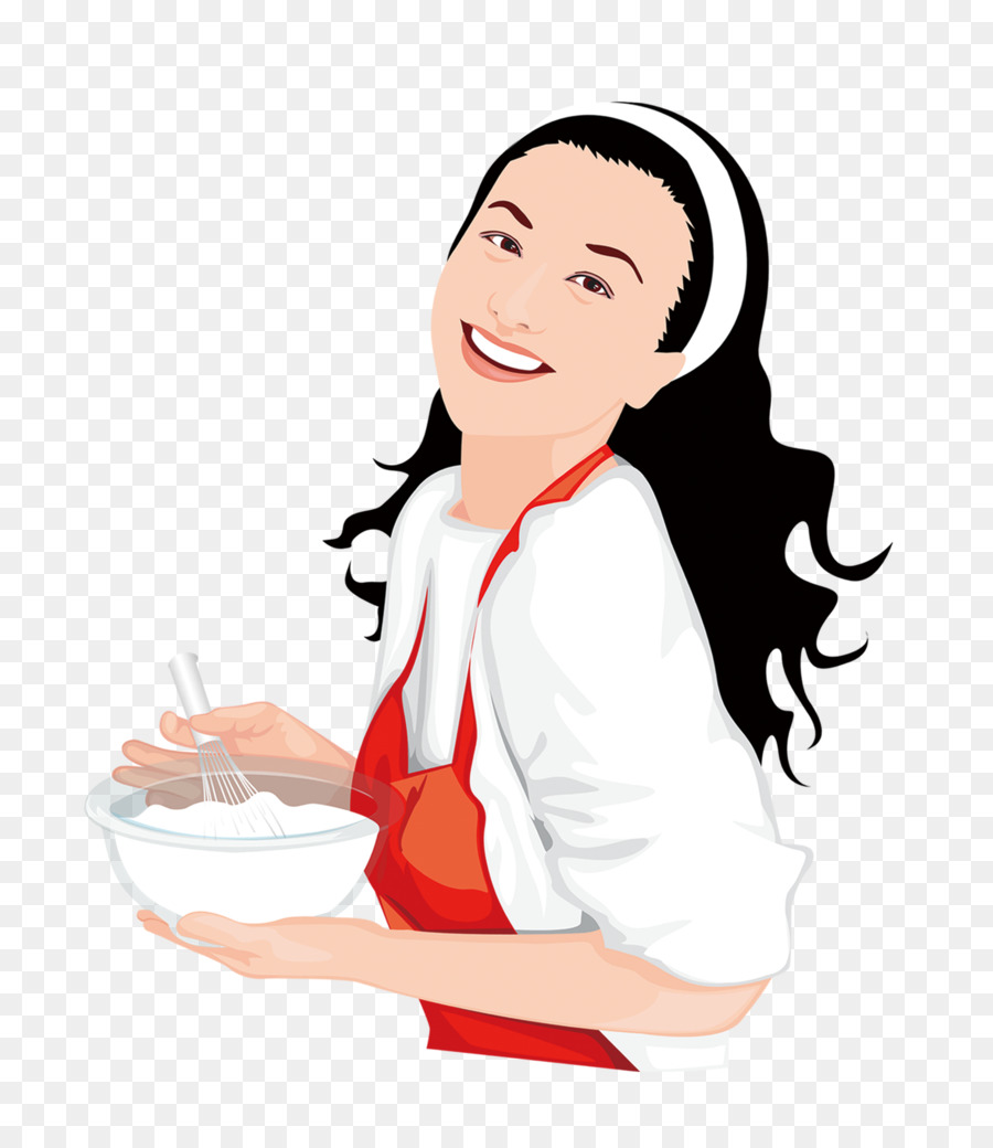 Cooking Woman Illustration - Cook a woman png download - 1522*1752 ... for woman cooking png  589ifm
