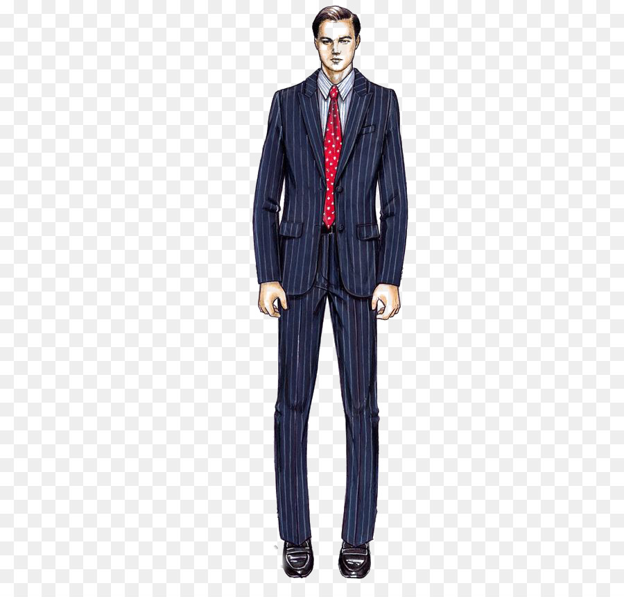 d13e68fd0faa Wall Street Costume Designer Armani Suit - Striped suit png download ...