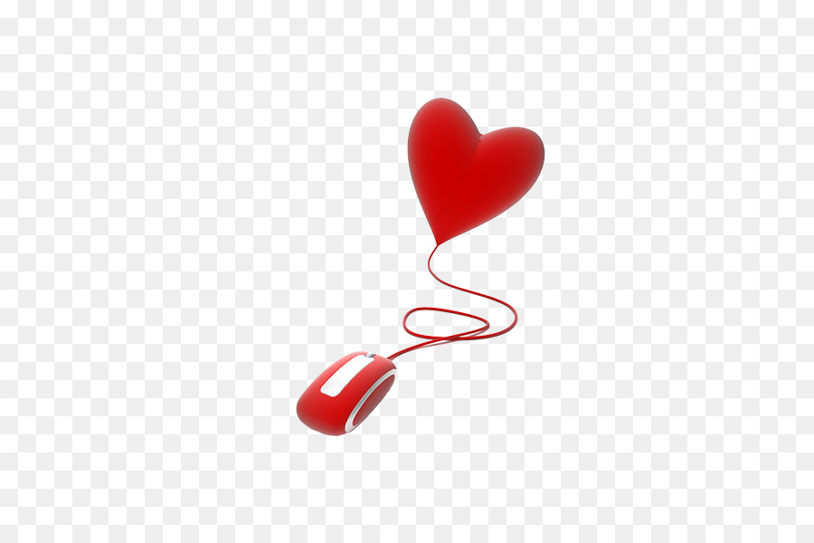 f1e6faaf6fc Computer mouse Love Valentines Day Heart - Mouse hearts png download ...