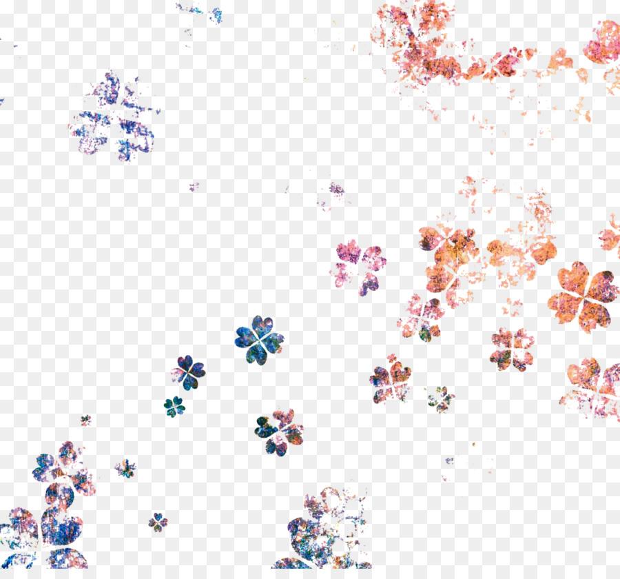 Trébol de cuatro hojas Icono - Trébol flotante de color de la imagen ...