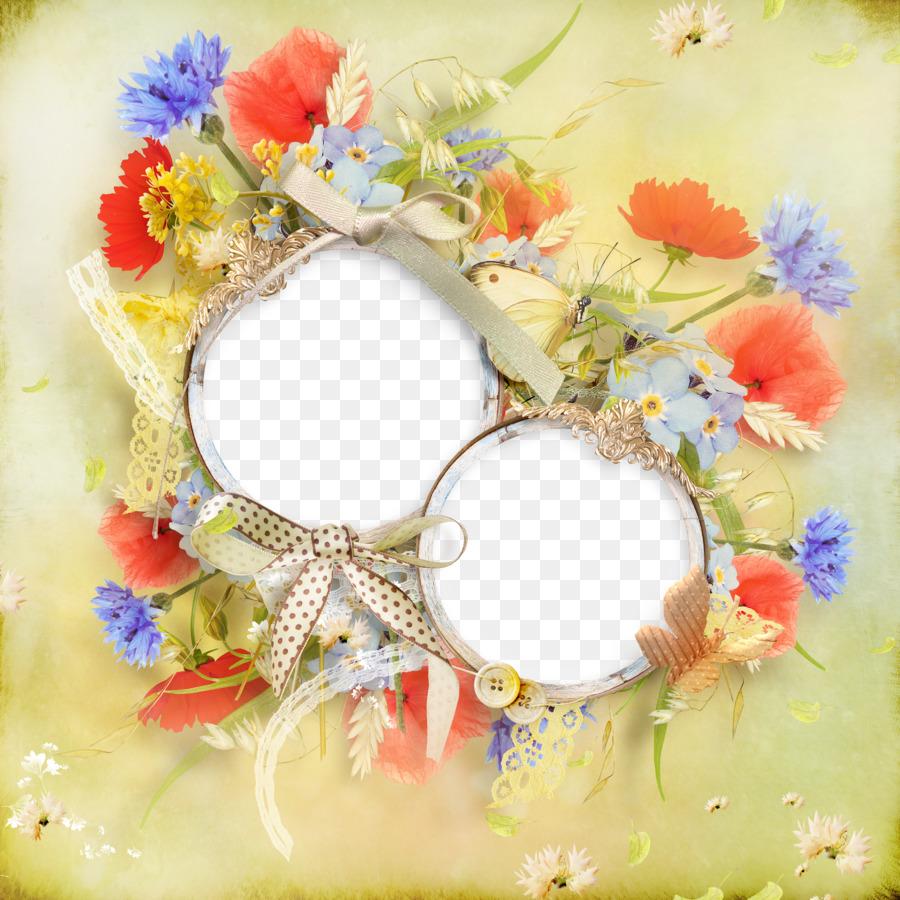 Círculo de marco de Foto arte de Clip - Calamar anillo marco ...
