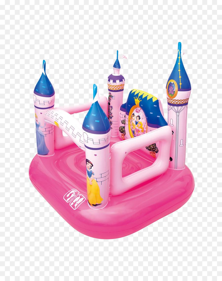 Inflatable Castle Disney Princess Disney Castle Toy Png Download