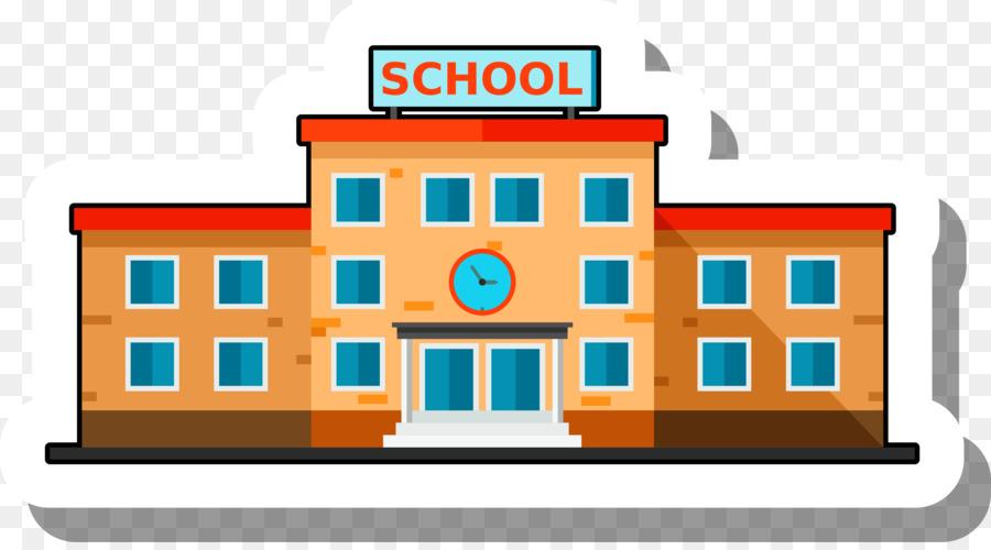 school building escuela illustration cartoon school stickers png rh kisspng com cartoon drawing school building school building cartoon background