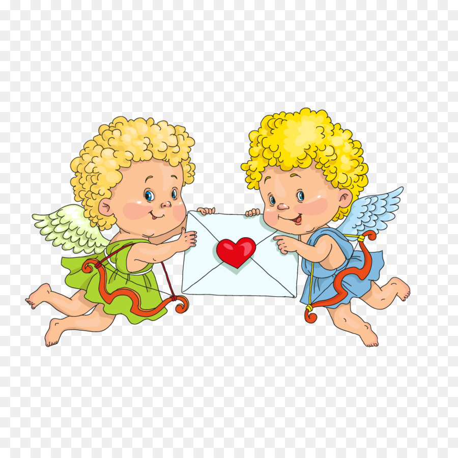 Cupid Heart Illustration