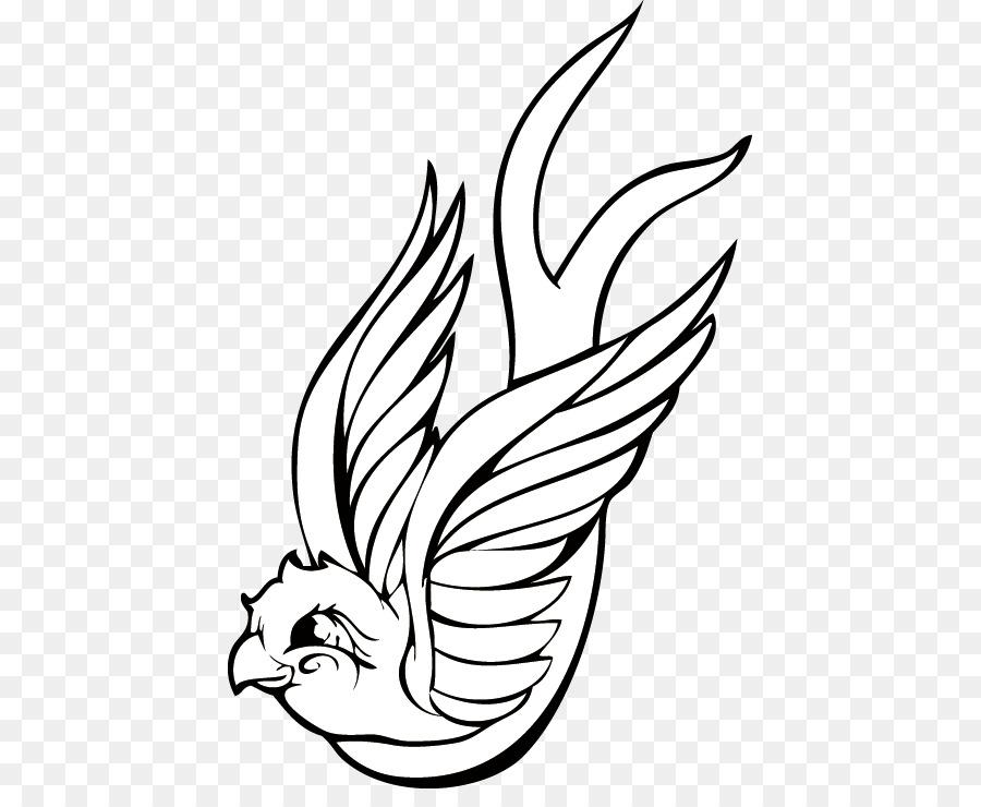 Aves de artes Visuales Dibujo Clip art - Las aves de la línea de png ...