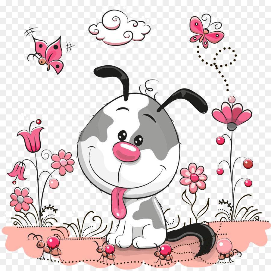Cachorro Ilustración - Vector lindo perro patrón Formatos De Archivo ...