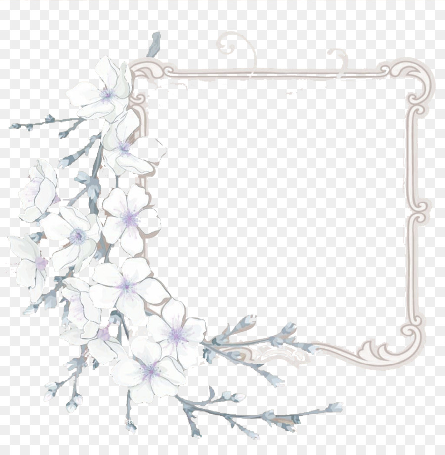 National Cherry Blossom Festival Lavender Fancy Skeleton Frame
