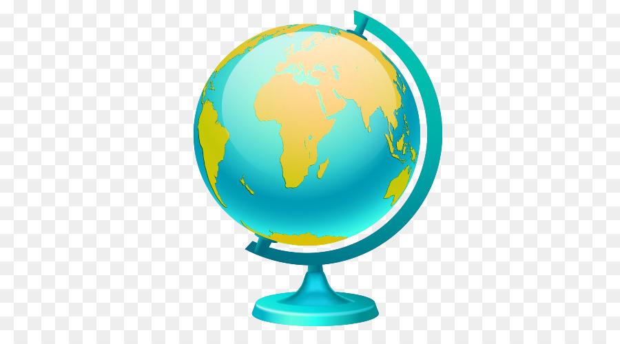 globe world map illustration cartoon earth