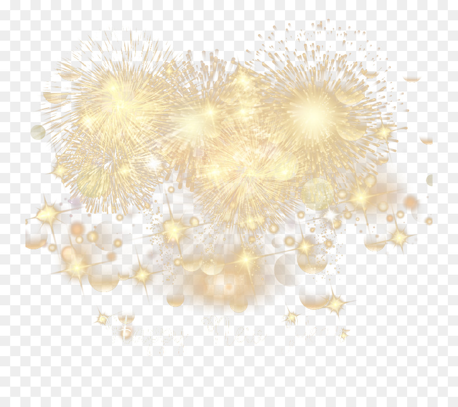 Amarillo Modelo De Iluminacion De Oro De Los Fuegos Artificiales