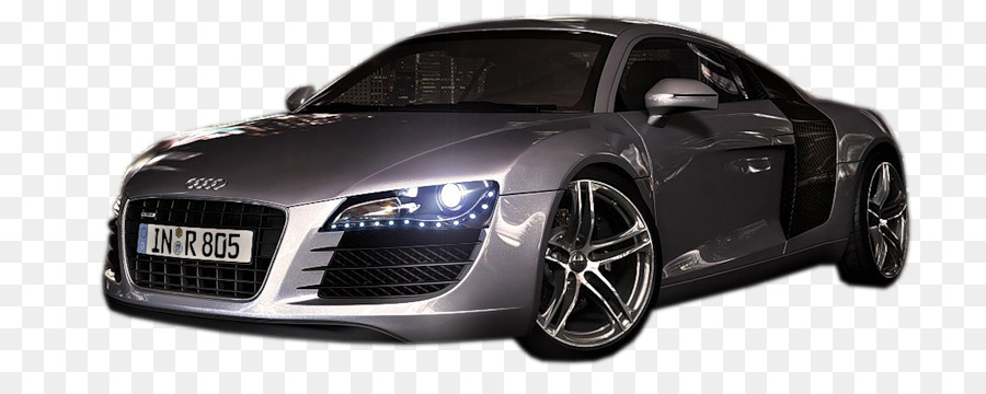 Car Audi R Vehicle Cool Sports Car Material Free To Pull Png - Cool audi