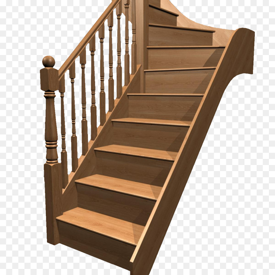 Stairs Hardwood Stair Riser   Retro Vintage Wooden Steps