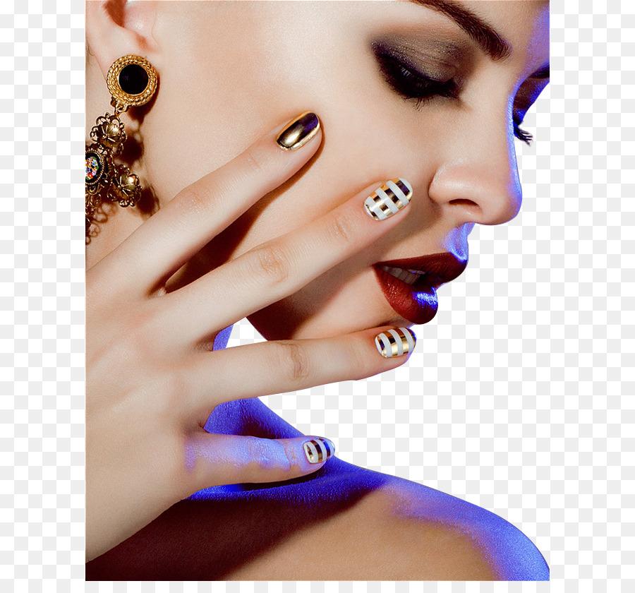 Nail polish Manicure Gel nails Make-up - Fashion beautiful makeup ...